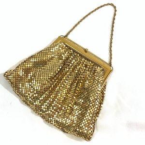 VINTAGE!! Whiting & Davis Metal Mesh Handbag